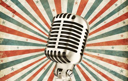 поэтический микрофон. картинки