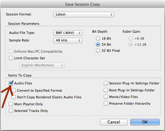 Pro Tools Diary | Backup Your Session - Recording64