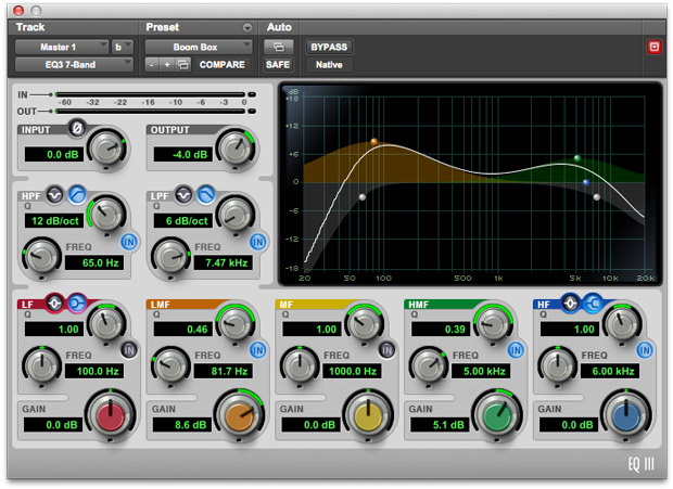 This Preset Emulates A Boom Box