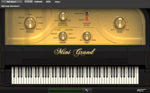 The Mini Grand Virtual Piano That Comes Bundled With Pro Tools